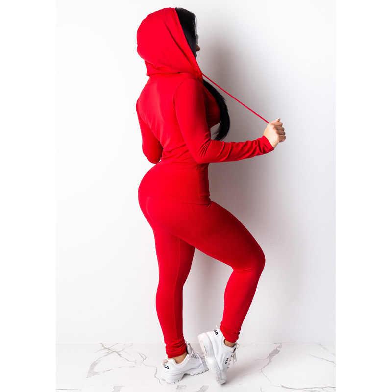 US Women  Mock Neck Long Sleeves Patchwork Casual Sport Yoga Long Tracksuit 2pcs