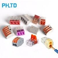 PCT-212 PCT-213 PCT-604 Kompakte Draht Stecker Terminal Block mit Hebel 0 08-2.5mm2 Plug-in Draht Stecker