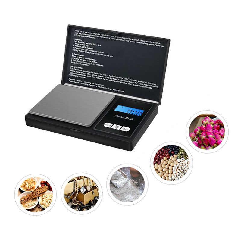 Balance de cuisine numérique haute précision 0.01g Balance de cuisine Balance de bijoux Balance de poids gramme LCD Balance de poche balances électroniques