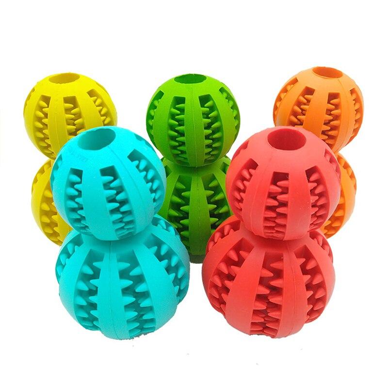 Новинка, игрушки для домашних животных, 5 см, Φ, шар из натуральной резины, мяч для чистки зубов, интерактивные игрушки для жевания кошек и собак-2