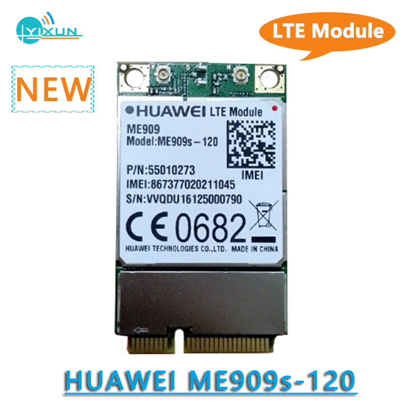 HuaWei ME909S-120 MINI PCI-E FDD LTE 4G CAT4 Module B1 B2 B3 B4 B5 B7 B8 B20 EDGE/GPRS/GSM 850/900/1800/1900MHz usb2.0 PCM Voice