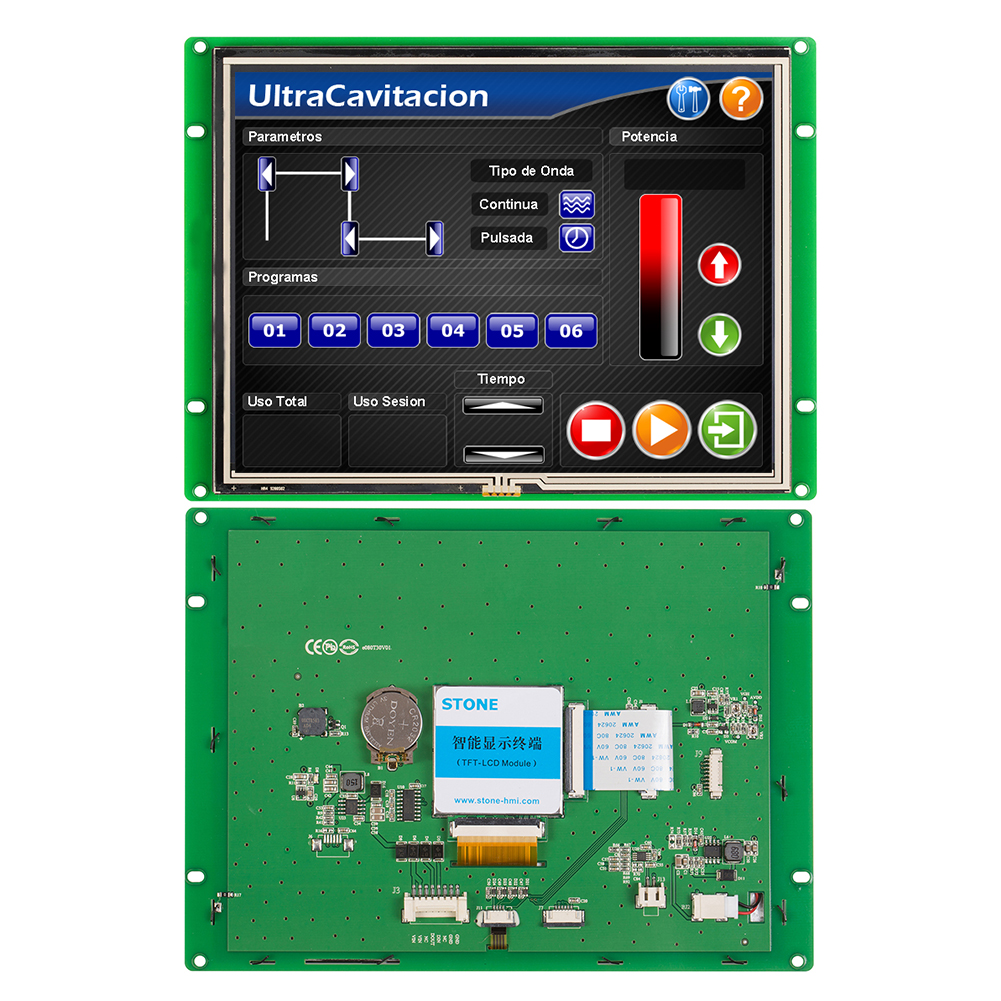 8.0 TFT LCD 800x600 With Serial Interface + Controller Board + Program Support Any Microcontroller 100PCS
