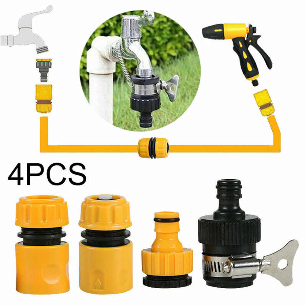 4x Durable Garden Hose Pipe Tap Connector Connection Fitting Adaptor Hose Lock Hose Connector Washing Machine Garden Water Washe Watering Kits Aliexpress