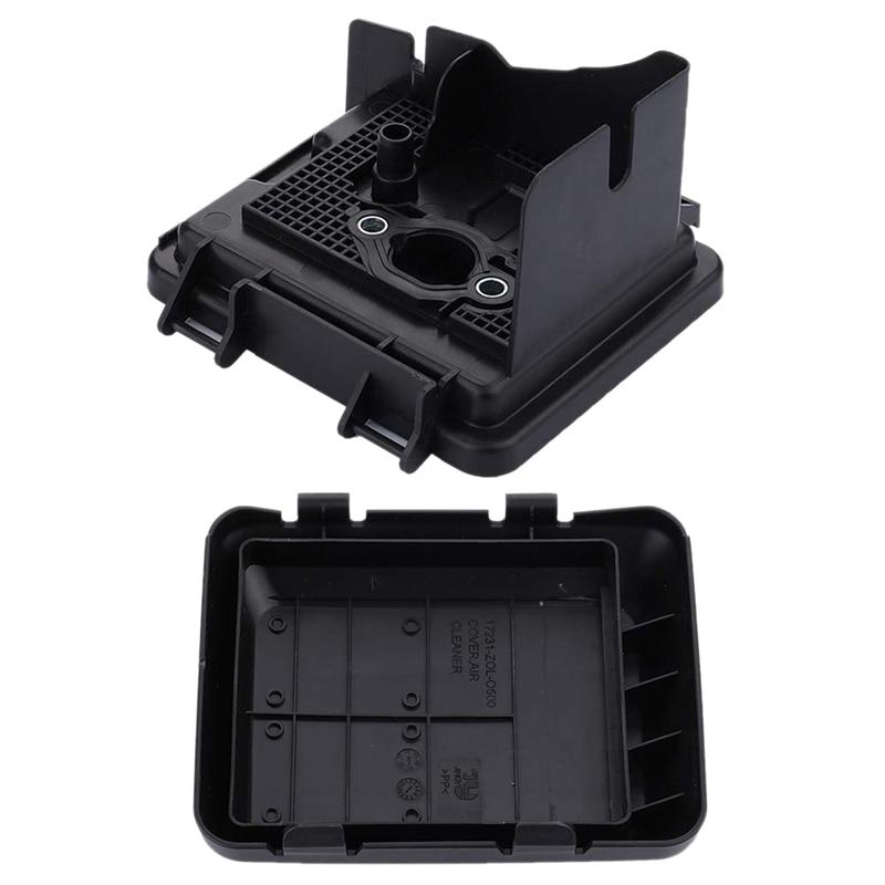 TOP 17220-Zm0-030 Air Filter Case Housing + 17231-Z0L-050 Cover For Honda Gcv160 Gc135 Gc160 Gc190A Gc190La Gcv135 Gcv160A Gcv