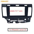 FEELDO Car Stereo Audio 2Din Fascia Frame Trim Kit для Mitsubishi Lancer EX 10 1