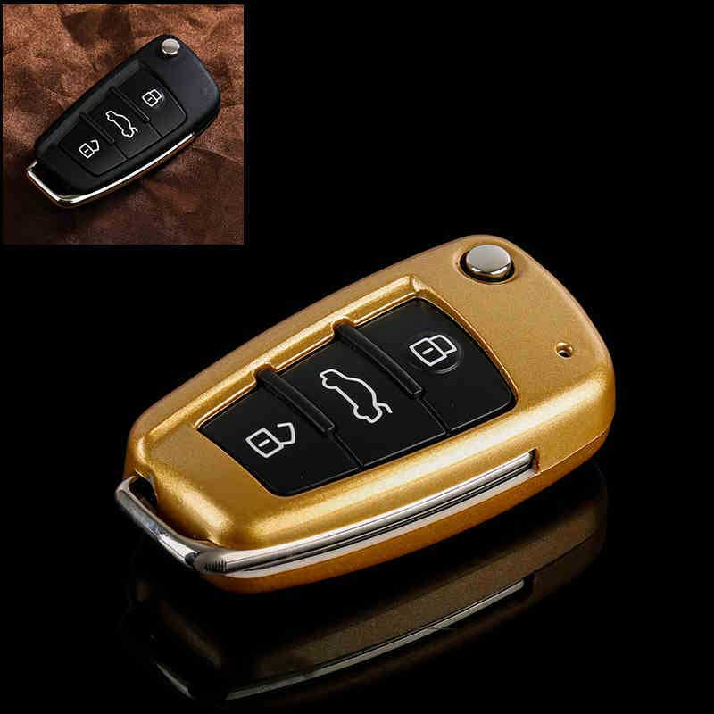 ABS Remote Auto Key Chains Protection Shell Cover key Case For Car for Audi A6L A1 Q3 Q7 TT R8 A3 S3 Car Accessories|Key Case for Car|   - title=
