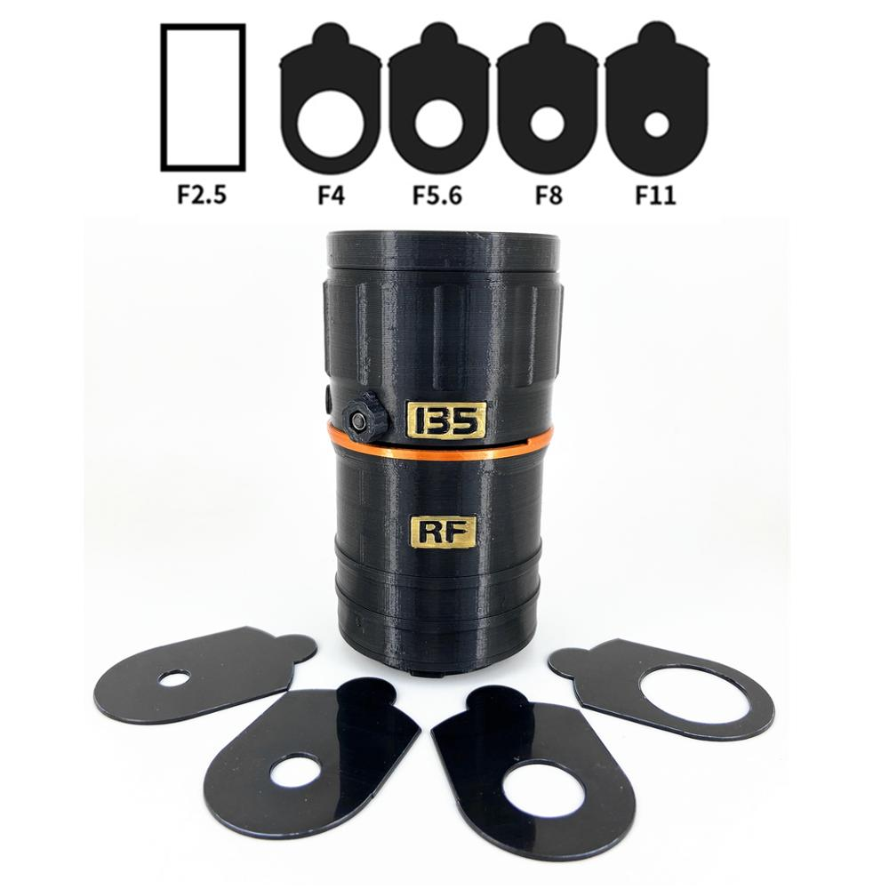 <font><b>135mm</b></font> f/2.5 Manual Prime RF Mount DIY Handmade Lens Toy for <font><b>Canon</b></font> EOS R RP R5 R5s R6 Mirrorless Camera 135 F2.5 image