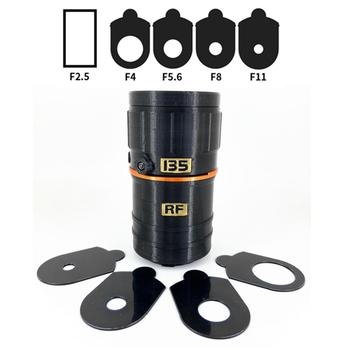135mm f/2.5 Manual Prime RF Mount DIY Handmade Lens Toy for Canon EOS R RP R5 R5s R6 Mirrorless Camera 135 F2.5