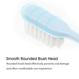Image 3 - 10 ピース/ロット Xiaomi Mijia 歯ブラシ大人歯ブラシソフト毛口腔ケア家族大人子供妊娠中の女性