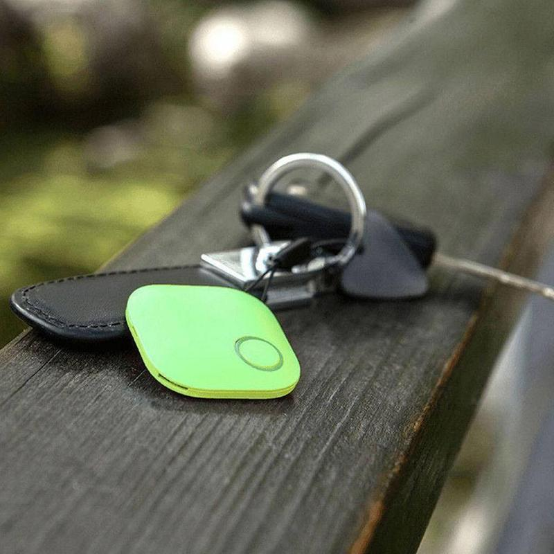 1PC Mini GPS Tracking Device Tag Key Child Finder Pet Tracker Location Bluetooth Tracker Smart Tracker Vehicle Anti-lost