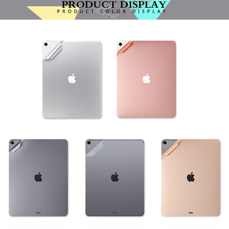 Back Carbon Fiber Protective Film For iPad Pro 11 2020 Full Cover Screen Protector For Apple
