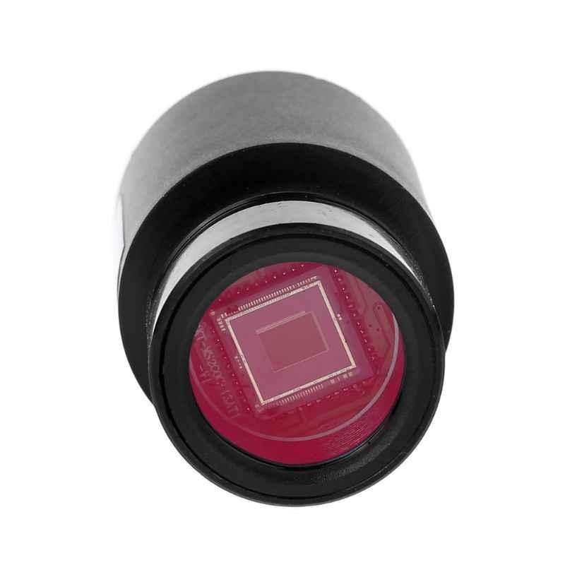HD CMOS 2.0MP USB กล้องจุลทรรศน์กล้องยึดขนาด 23.2 มม.พร้อมแหวนอะแดปเตอร์ 30 มม.30.5 มม.