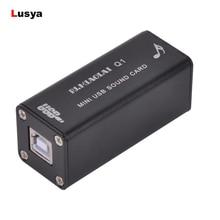 PCM – carte Audio numérique DAC PCM 2704 pour ordinateur portable et de bureau, sortie de Signal 3.5 pour amplificateur B2 002