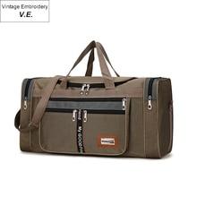 Мода нейлон свободного покроя путешествия вещевой мешок водонепроницаемый мужская сумки длинный ремень анти-скреста Multi-карман большой емкости сумки