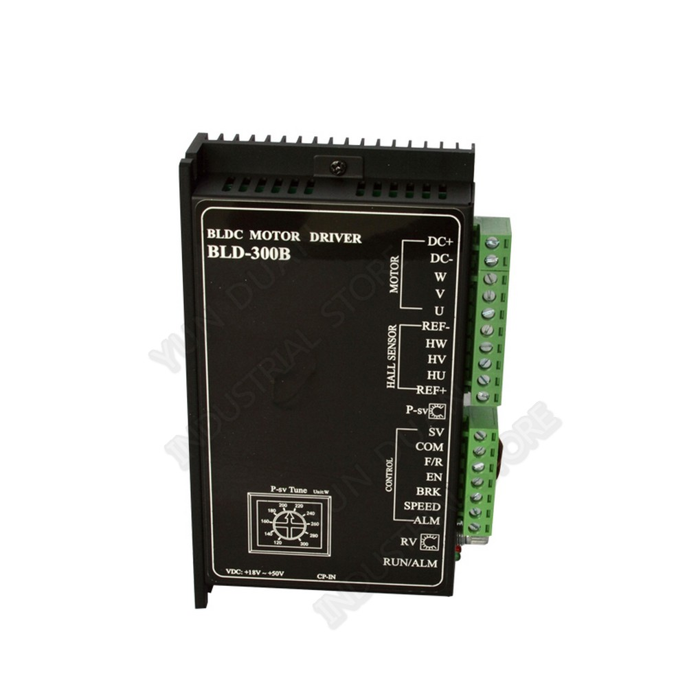 BLDC Driver Hall 300W <font><b>Brushless</b></font> <font><b>Motor</b></font> Driver <font><b>DC</b></font> 48V 12V-56V 15A Controller Adjustable speed PWM Suitable for 100W 200W <font><b>250W</b></font> image