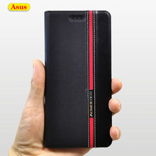 Leather Wallet Case Cover Voor Asus Zenfone ZB601KL ZB602KL ZB555KL ZC554KL ZC520KL ZB633KL ZE520KL ZE552KL Telefoon Flip Cases(China)