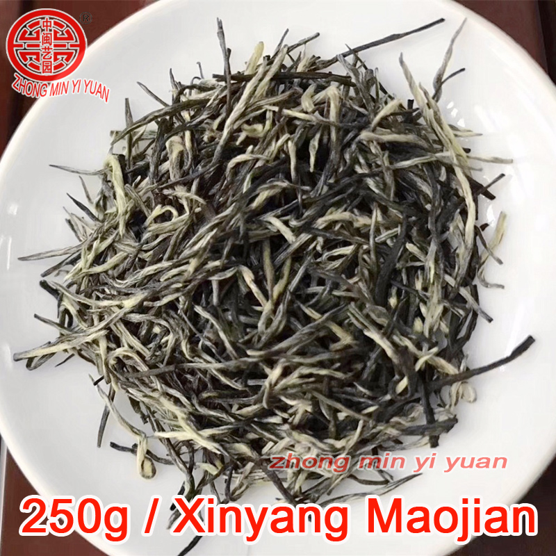 2019 New Spring Arrival Fresh Maojian Green Tea 250g Chinese Green Tea Xinyang Maojian Top Grade Weight Loss Tea Healthy