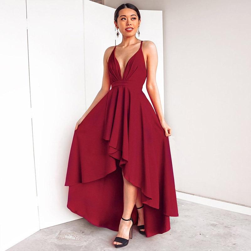 A-line Bridesmaid Dress V-neck Pleated Bridesmaid Dress Elegant Formal Long Dress Vestido De Fiesta Robe De Soiree MZX-69#