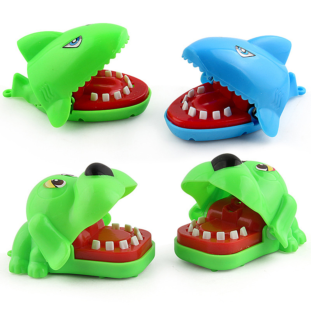 2019 Hot Sale Creative Small Size Crocodile Mouth Bite Finger Game Funny Gags Toy For Kids Play Funny Biting Hand Crocodile Toy