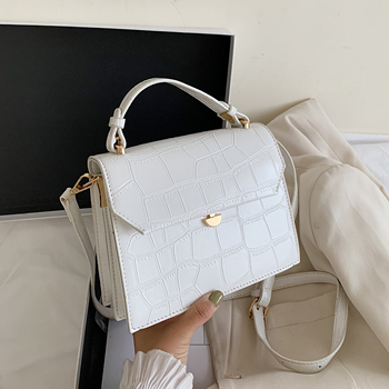 Stone Pattern Small PU Leather Crossbody Bags For Women 2020 Summer Simple Shoulder Bags Handbags Travel Cross Body Bag