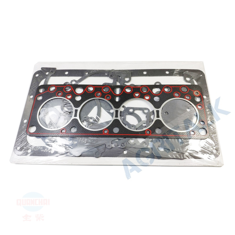 The Set Of Gasket Kit Including The Head Gasket For Anhui Quanchai QC480D Engine,  Part Number: