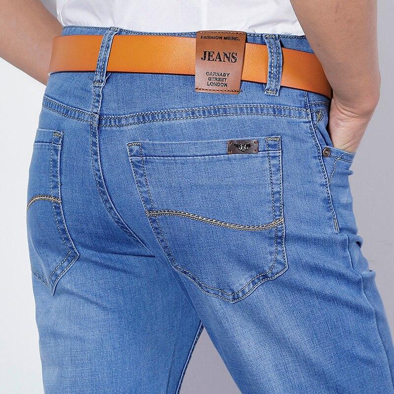 Xuansheng Straight Men's Jeans 2020 Cotton Soft Stretch Comfortable Straight Brand Classic Long Pants Fashion Streetwear Jeans