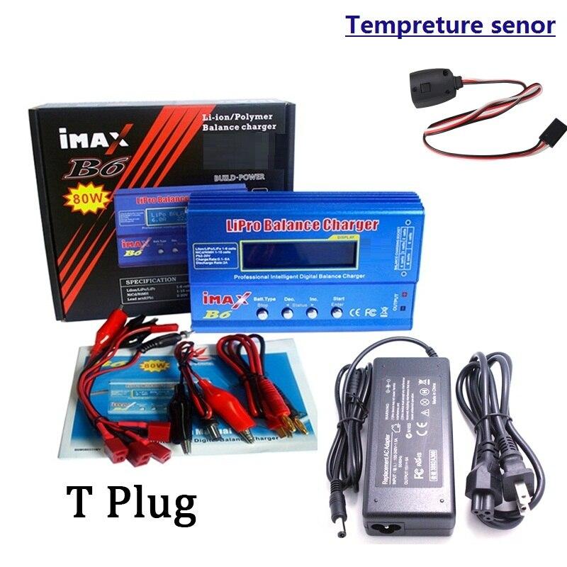 Цифровое Зарядное устройство iMax B6 80 Вт, преобразователь переменного тока, адаптер постоянного тока 12 В 5 А 6 А для Lipo NiMh Li-Ion Ni-Cd Mini Tamiya, разъем