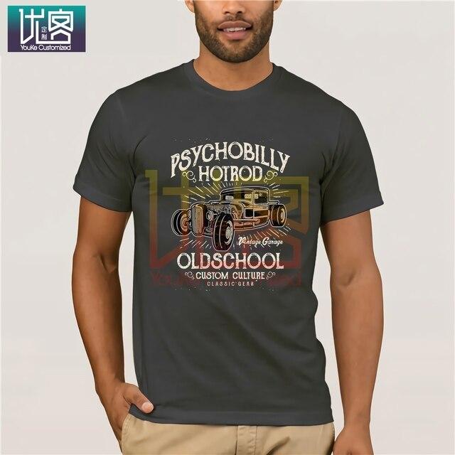 Nouveau 2020 populaire célèbre marque de haute qualité psychobiles Hot Rod vieille école Vintage Garage classique voiture personnalisé Culture t-shirt t-shirts