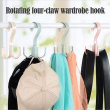 Colgador de bolsos multicapa para ahorro de espacio, colgador para ropa, rotación de 360 grados, para zapatos, cinturón, bufanda, nuevos