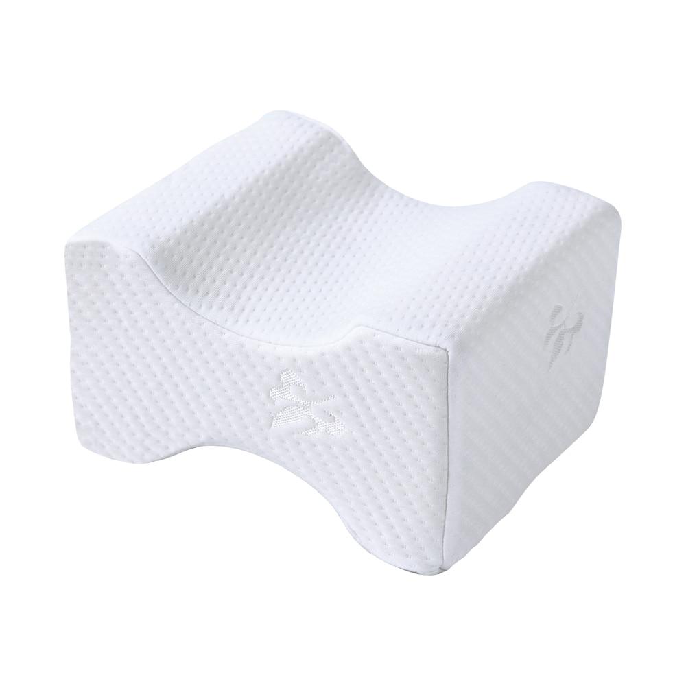 Подушка из пены с эффектом памяти, 3 цвета, Ортопедическая подушка, латексная подушка для шеи, волокно, медленный отскок, мягкая подушка, массажер для шейного отдела, забота о здоровье - Цвет: Knitted maple leaf