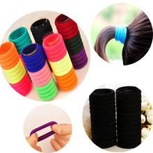 30PCS Hair Accessories Hair Braid Seamless Ultra Elastic Rin