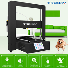 New Arrival Tronxy X6A 3D Printer Full Metal Frame Touch LCD Auto Level Heatbed Power Loss Resume To Print Filament Detection все цены