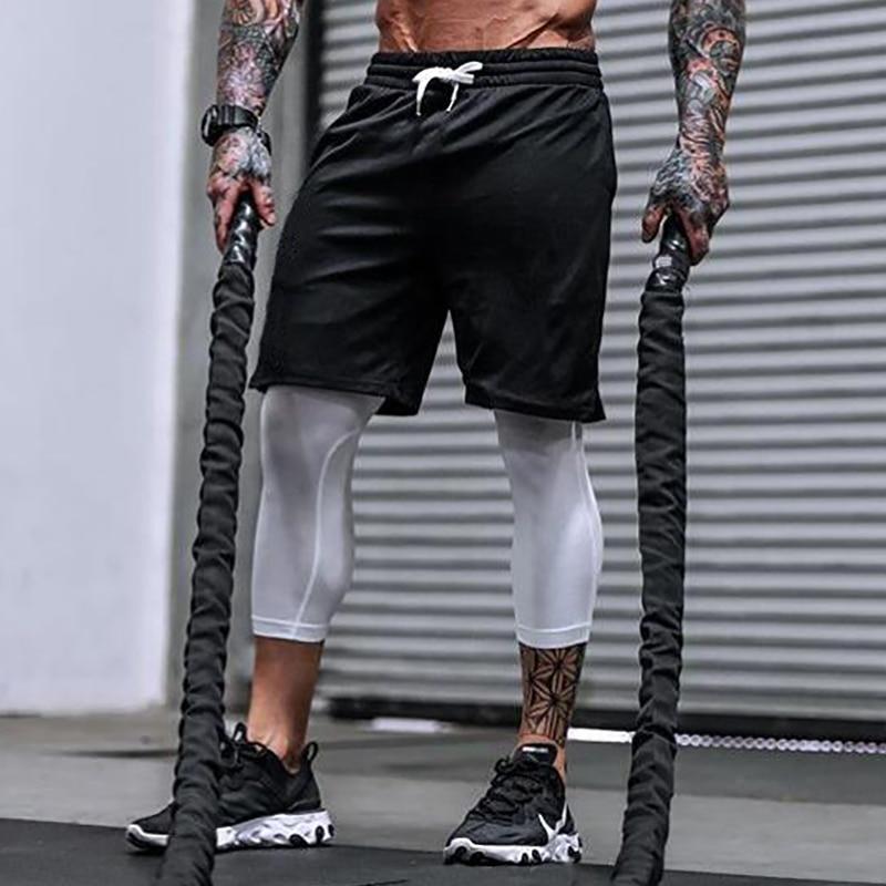 Gym T shirt Bodybuilding Décontracté Entraînement Vêtement Haut Musculation