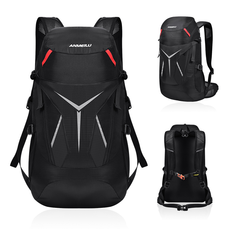 ANMEILU <font><b>20L</b></font> Outdoor <font><b>Backpack</b></font> Waterproof Foldable Rucksack <font><b>Hiking</b></font> Riding Travel Camping Trekking Sports Bags for Men Women image