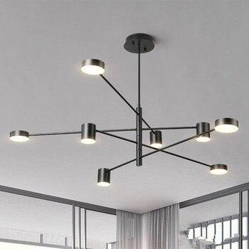 Modern LED Chandeliers Ceiling Nordic Pendant Indoor Lamps for Living Room Restaurant Bedroom Chandelier Lighting Lampadari Home