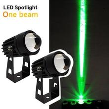 Wall-Spotlight One-Beam-Lights Outdoor Led Blue Waterproof 9W Green Red 12W 220V RGB