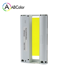 цена на A ABCOLOR 6 inch Ink Cartridge Postcard Size Compatible For Canon Selphy CP1300 CP1200 CP910 CP900 Photo Printer