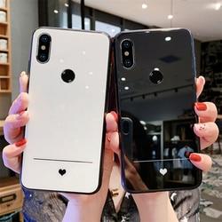 На Алиэкспресс купить стекло для смартфона for vivo y95 y91 y91c y93 y90 y97 case simple slim heart hard tempered glass soft silicone cover for vivo y95 y83 y81s y81 y85