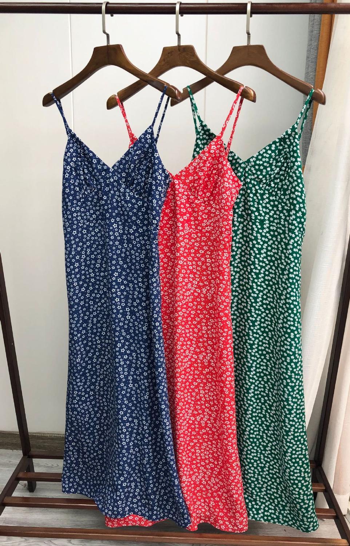 Women's Print Spaghetti Strap Dress Trumpet / Mermaid Vintage Casual Sleeveless Chic Midi Dress