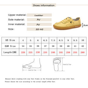 Image 5 - MBR FORCE  Women Sneakers Flats Platform shoes Fashion Lace up outdoor Casual Ladies shoes