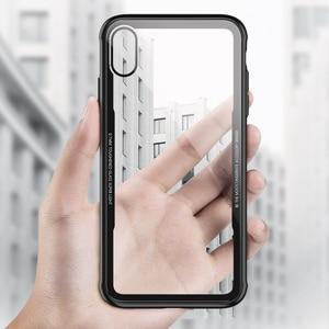 Image 2 - FLOVEME Gehärtetem Glas Telefon Fall Für iPhone 7Plus Fällen 8Plus XS 8 11Pro MAX 11 Für iPhone 7 abdeckung X 11 PRO Transparent Fundas