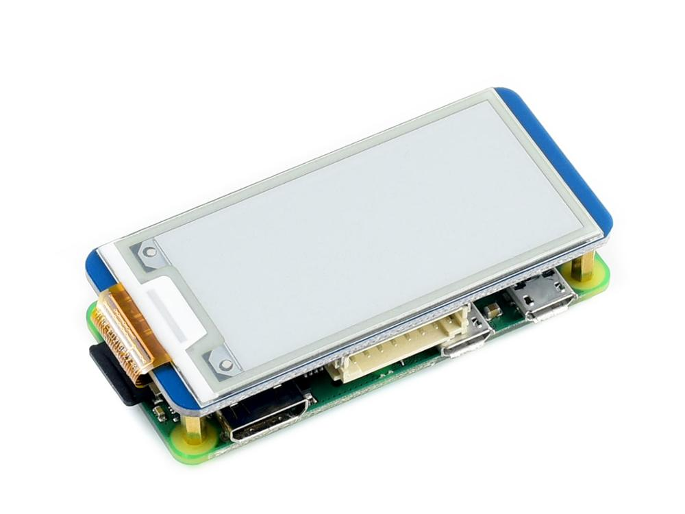 Image 4 - Waveshare 2.13 e Paper HAT,250x122,2.13inch E Ink display for  RaspberryPi 2B/3B/Zero/Zero W,color: black,white,partial  refreshraspberrypi zerohat hatdisplay e-ink
