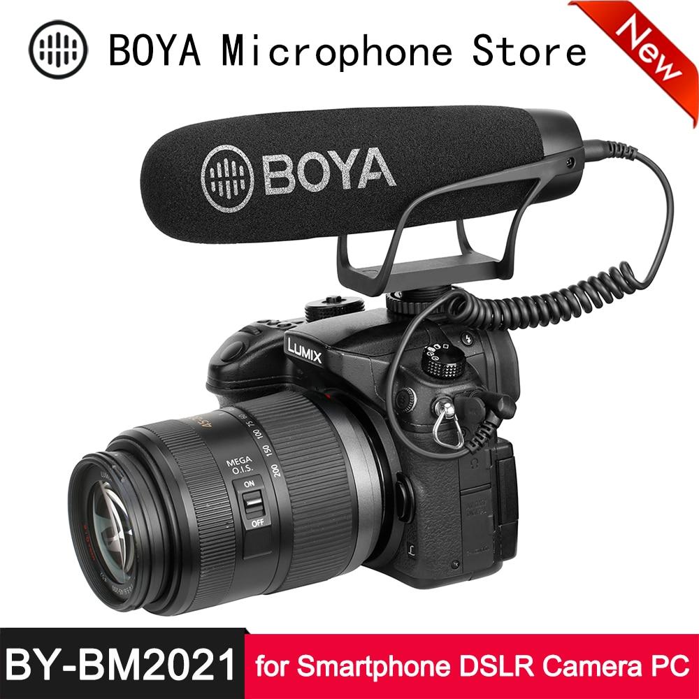 BOYA BY-MM1 Cardiod Shotgun Video Microphone MIC Video for Samsung Camera iPhone