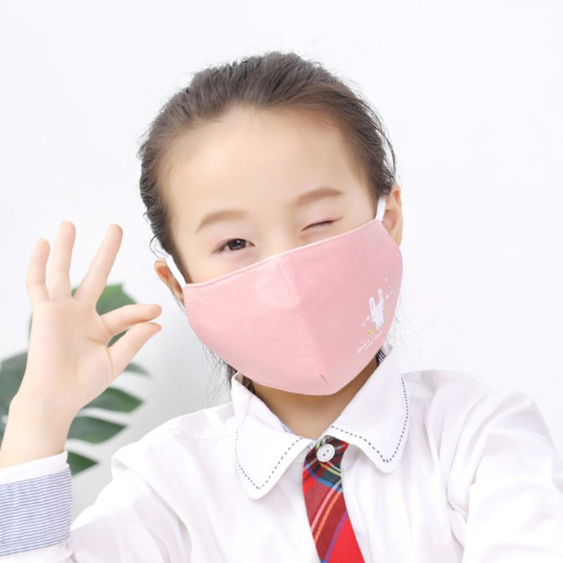 Breathable PM2.5 3D Children Mouth Face Mask Anti Dust Pollution Haze Respirator