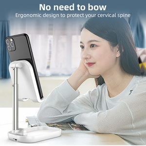 Image 3 - FONKEN พับไร้สาย 10 วัตต์ผู้ถือโทรศัพท์มือถือ QI ชาร์จสำหรับโทรศัพท์ Double COIL FAST CHARGE Universal Bracket