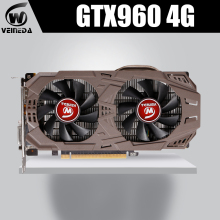 VEINEDA Schede Grafiche Originale GTX 960 4GB 128Bit GDDR5 1203MHz/7012MHz Scheda Video per nVIDIA Geforce GTX960 Hdmi Dvi Carta