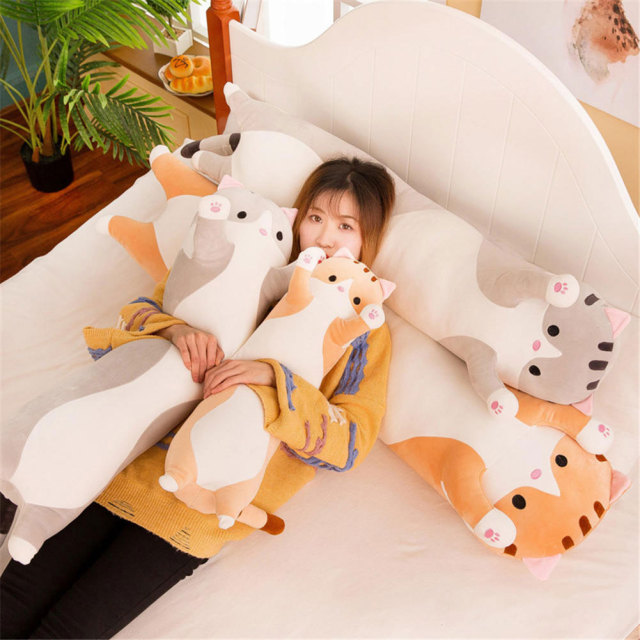 Cat doll soft-filled Cotton pillow