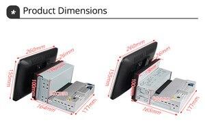 "Image 5 - Ownice k3 k5 k6 1280*720 10.1 ""Android10.0 Rotatable 1Din 2 דין אוניברסלי GPS Navi רכב סטריאו נגן רדיו 4G 360 פנורמה SPDIF"