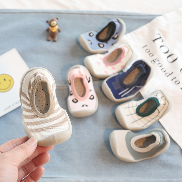 Baby Toddler Shoes Non-slip Shoes Sock Kids Girl Boy Floor Shoes Foot Socks  7kinds Zy09  TLB