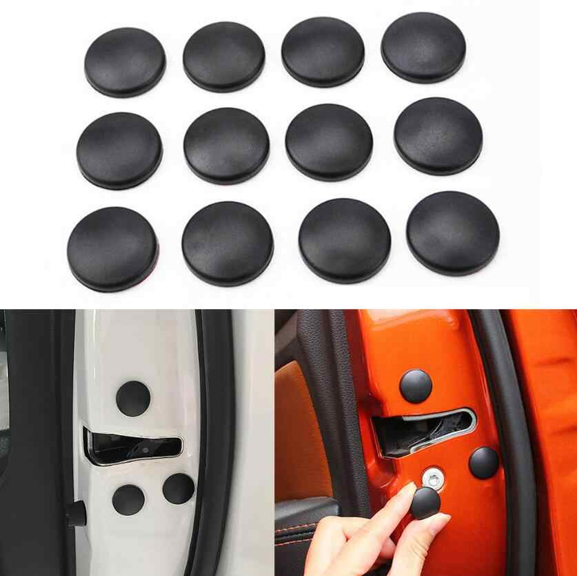 Car Door Lock Screw Protector Cover for Hyundai ix25 ix35 i40 Tucson Accent solaris 208-2018 2017 2019